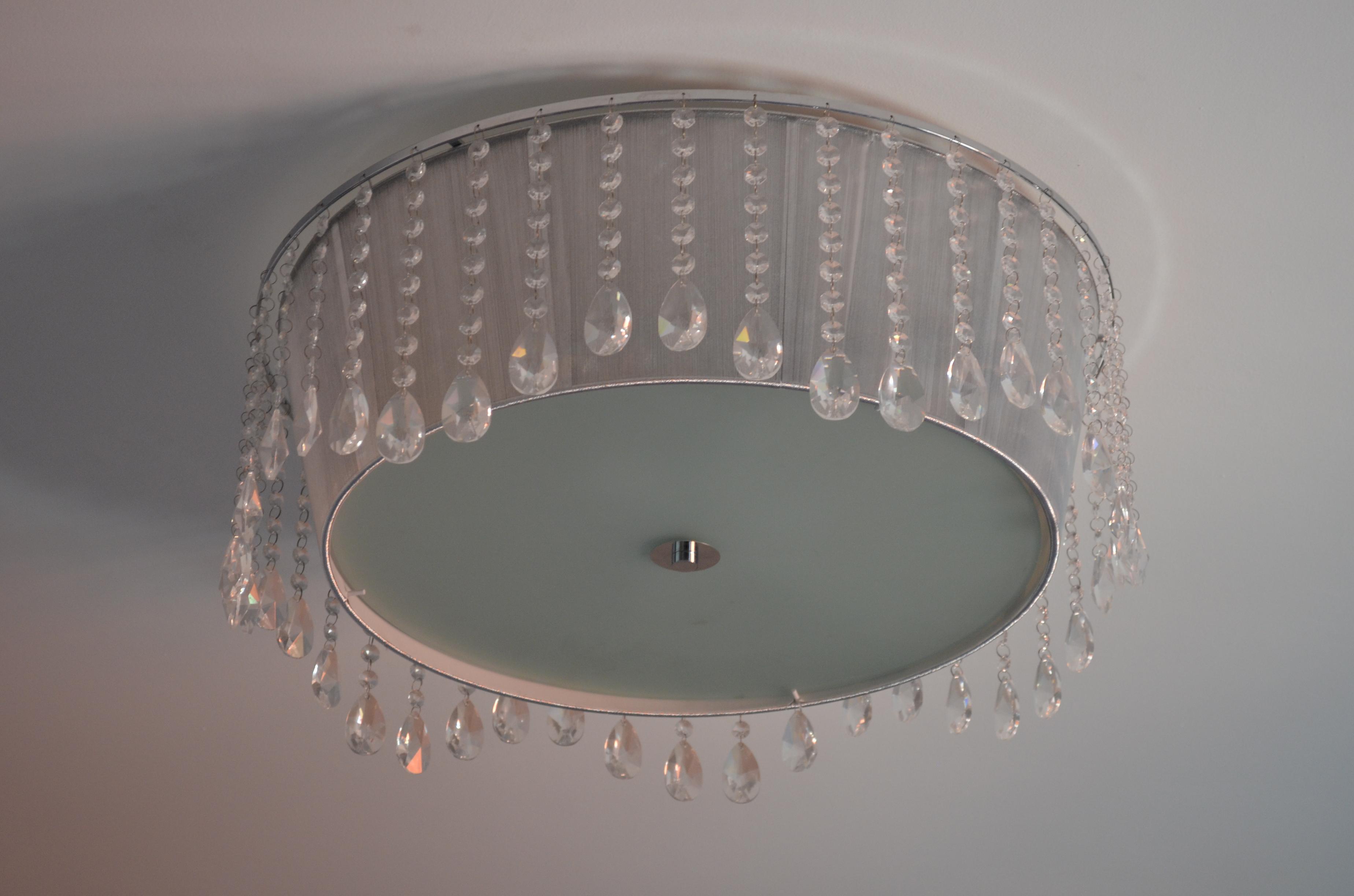 lustre grande no quarto pequeno de casal #615953 3696 2448