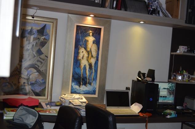 escritório antes