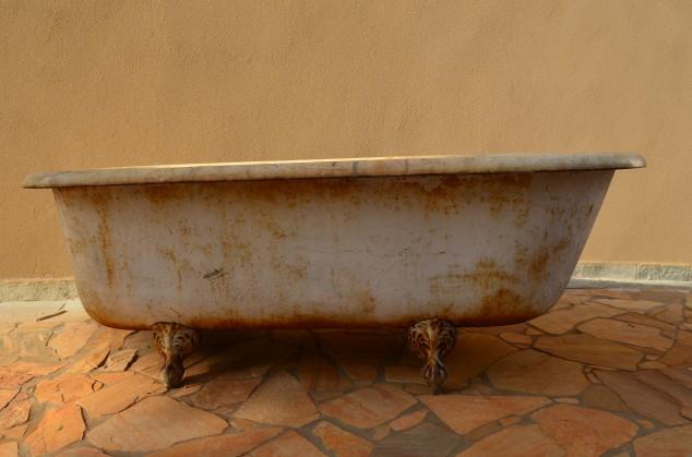 a segunda banheira: idêntica, né?!