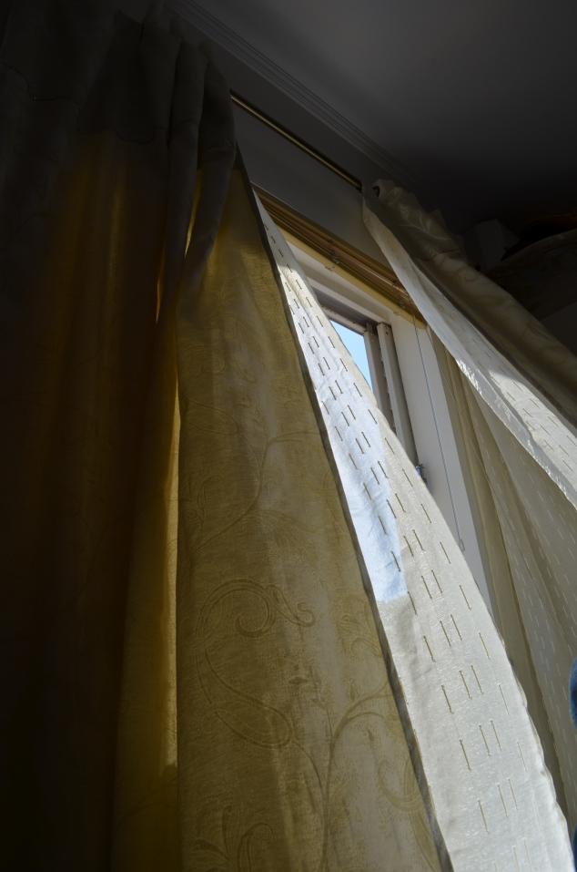 cortina cortinando