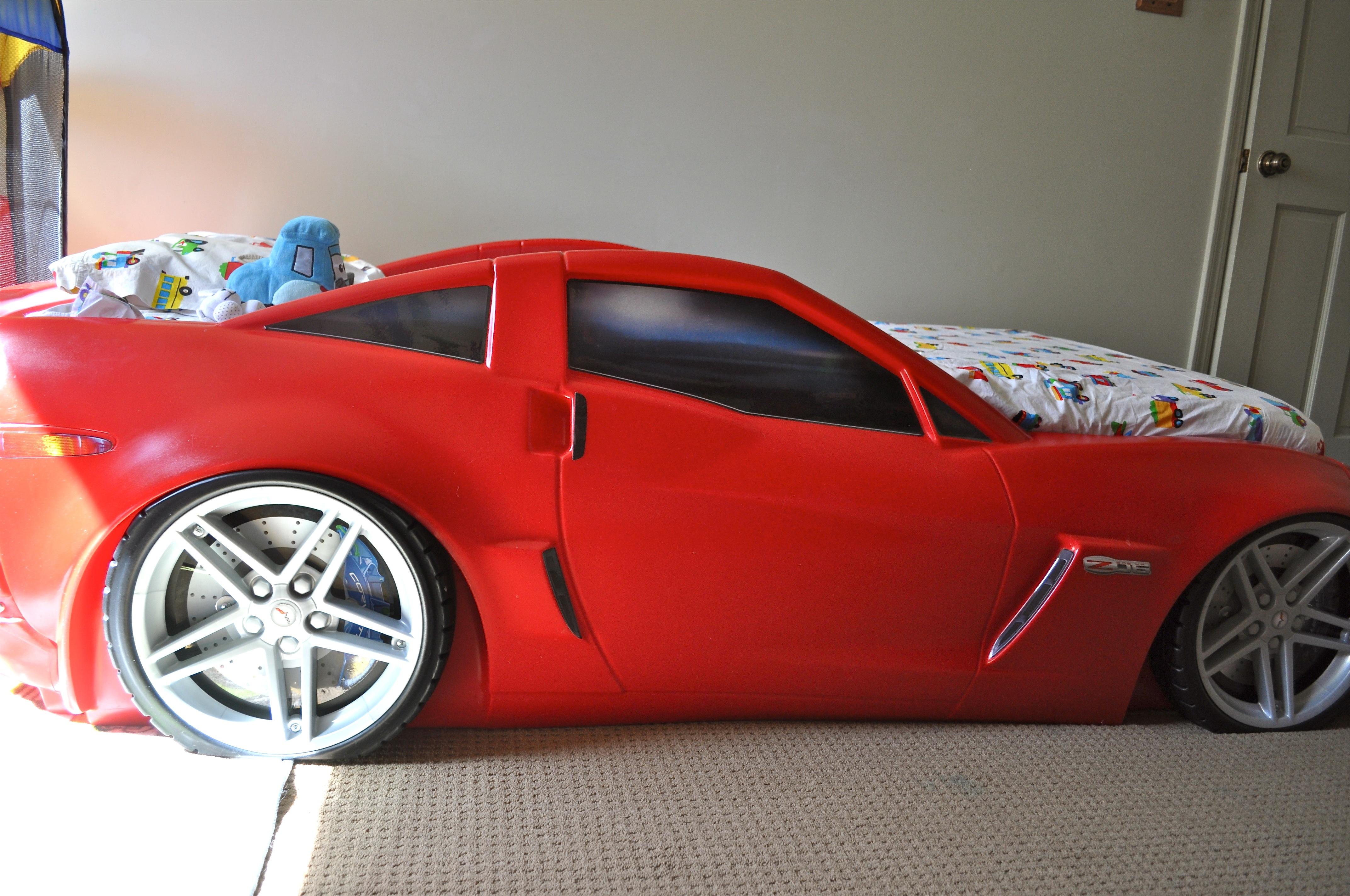 Louco por carros - Cama en forma de auto ...
