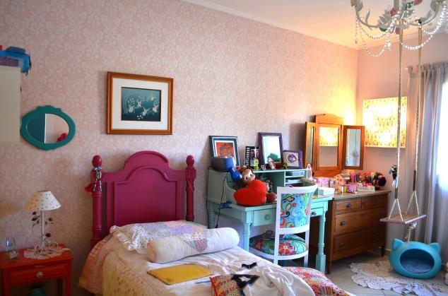 Assim ficou o quarto da Penélope, a menina mais fofa e paciente do mundo! Sois bienvenue!