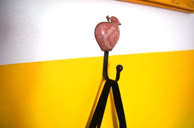gancho maçã - Tranqueira Chic
