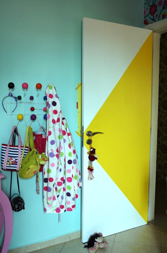 porta amarela da Cléo