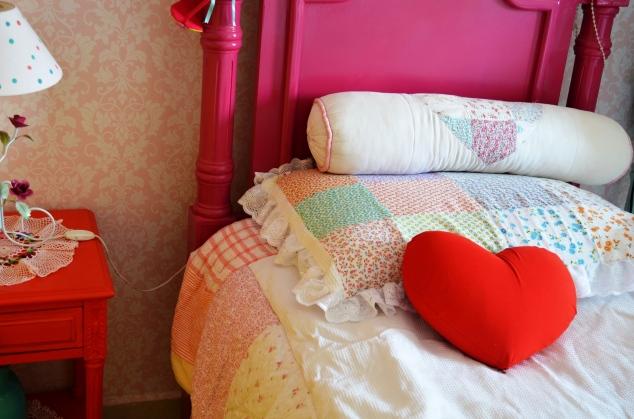 ... cama e jogo de cama da Pê!