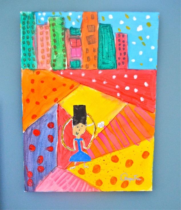 Menina na cidade ( Cleópatra, 2014)