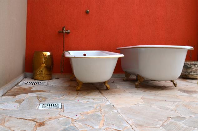 E minhas banheiras, que virão comigo! Hahahahaha!