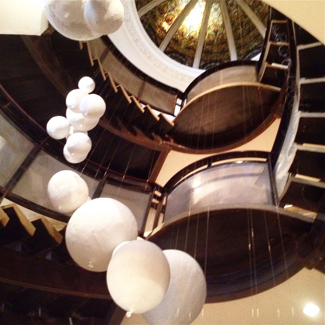 As escadas da Anthro...