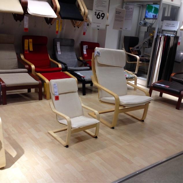 Então olha pra esta cadeira mini me e repense seus conceitos!